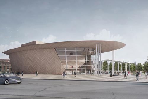 Andrea Maffei Architects  — Concorso Piazza della Repubblica e Teatro Varese