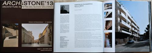 Lorenzo Colonna — ARCH&STONE'13 - Architetture in pietra del nuovo millennio. Premio nazionale di Architettura in pietra - Edizione 2013 (Progetto partecipante)