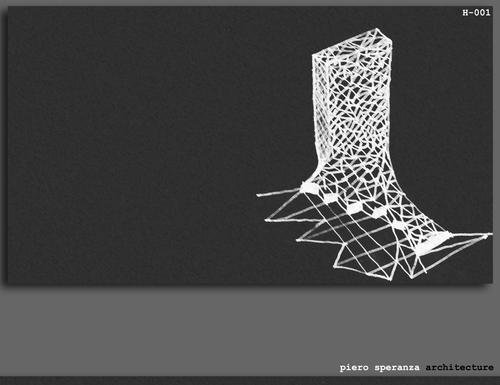 Piero Speranza, Corinne Piera Speranza, sas&a - studio di architettura speranza associati — Spider web Tower