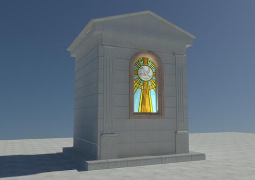 Daniele Cucciniello — Progetto esterno di una edicola funeraria