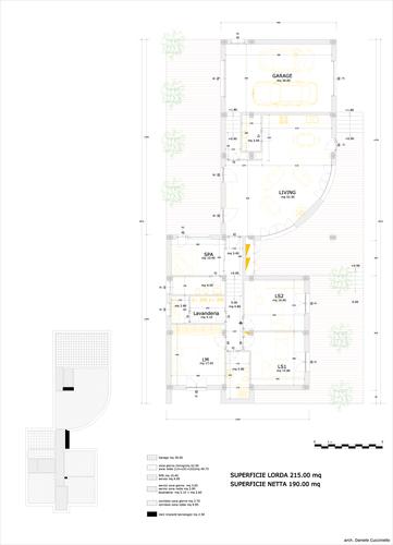 Daniele Cucciniello — Progetto di una casa unifamiliare