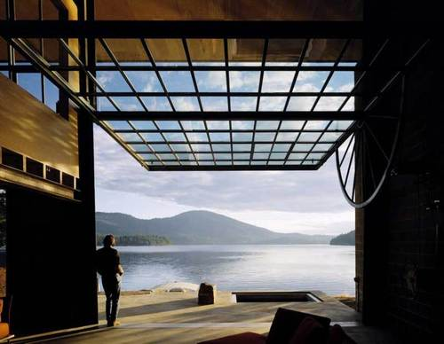 Olson Kundig Architects — Chicken Point Cabin