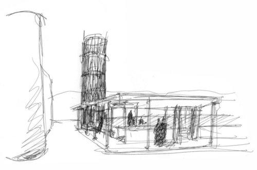 Federico rossi concorso di idee la torre dell 39 acqua for Avvolgere l aggiunta portico