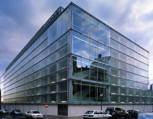 Mansilla tu n arquitectos centro documental de la comunidad de madrid divisare by - Arquitectos interioristas madrid ...