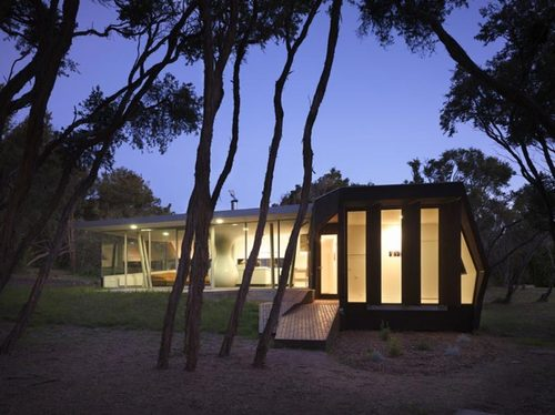 Paul Morgan Architects — The Cape Schanck House