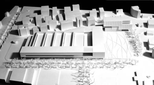 [ luca gazzaniga architetti ], mateo arquitectura, mateo arquitectura — M A R concorso Campo Marzio, Lugano