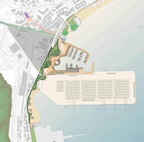Sistemazione della aree del fronte urbano portuale del for Nuovo design del paesaggio inghilterra