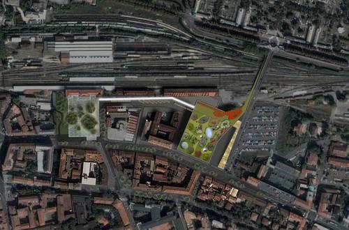 David Palterer, F&M Ingegneria.com, UNA2 Architetti Associati, AREAPROGETTI — Riqualificazione Area Urbana Stazione Ferroviaria Di Cremona
