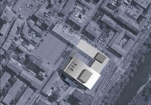 Arup, Piero Sartogo, Sartogo Architetti Associati — La Piazza Dentro La Piazza: Contributo Del Teatro All'idea Di Citta'
