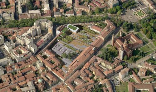 David Palterer, neutrostudio, Laura Ceccarelli, Metec & Saggese Engineering Srl, UNA2 Architetti Associati, AREAPROGETTI — Recupero Del Padiglione 18 Dell'ex Ospedale S. Andrea. Vercelli