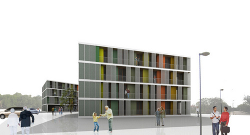 H arquitectes divisare by europaconcorsi for Gimnasio 704 h arquitectes