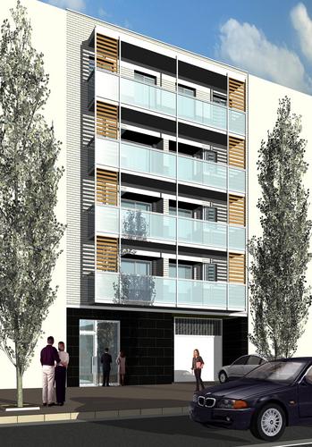 Franconi architects edificio multifuncional divisare - Juliette boulard ...