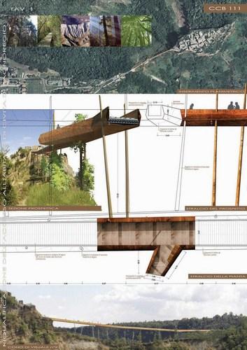 Studio Pigreco, Federico Celoni architetto, Elisa Bonarelli architetto — Riqualificazione dell'accesso all'abitato di Civita di Bagnoregio