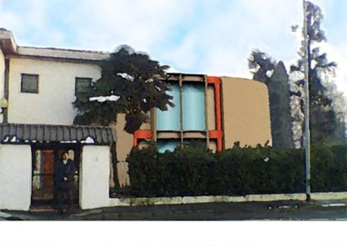 Abad architetti srl ampliamento di casa unifamiliare - Ampliamento casa ...