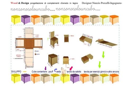 nunzio porcelli concorso wood design progettazione di