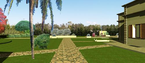 Sonia luparelli progetto per un giardino privato - Progetto giardino privato ...