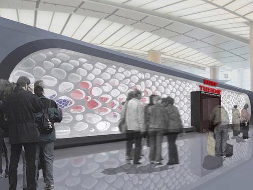 KK architetti associati, Simone Moggia, Tiziana d'Angelantonio, Giulio Pons — Detroit Airport Cafeteria