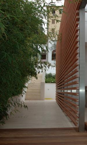 Lac laboratorio architettura contemporanea villa a s for Portico laterale in stile casa in stile charleston