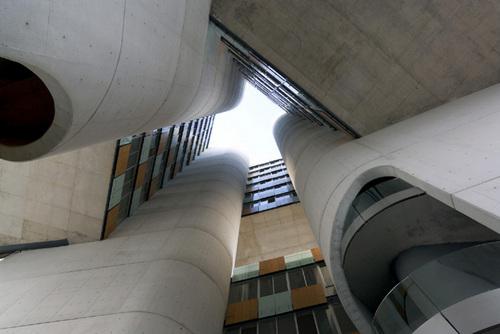 Estudio Carme Pinós — Torre Cube, Puerta de Hierro