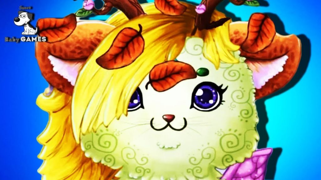 Fun Animals Cat Care & Pet Makeover – Little Dragons – Magical Cats – Dress Up Game for Kids