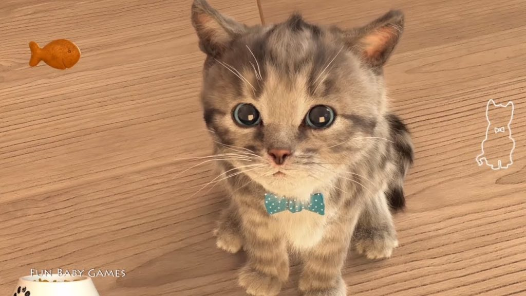 Play Fun Little Kitten My Favorite Cat Girls Games – Fun Cat Care Kids Games Cartoon for Children