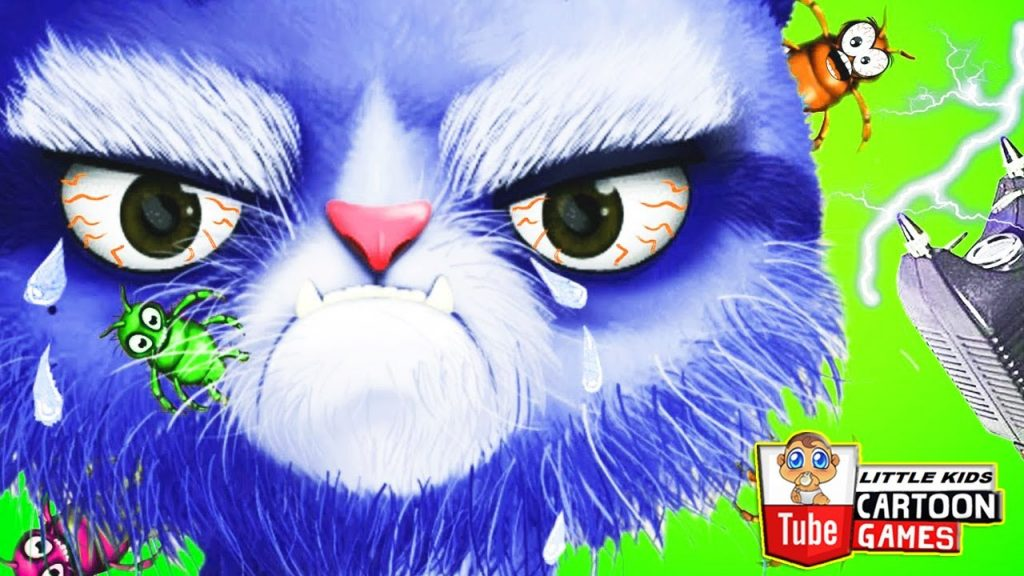 Fun Cat Care & Pet Makeover. Hair Salon Colors Kids Games for Girls. Baby Play Kitty Hair Care Game