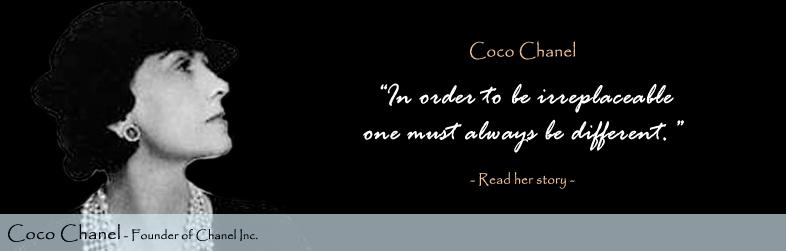 Coco Chanel Quote