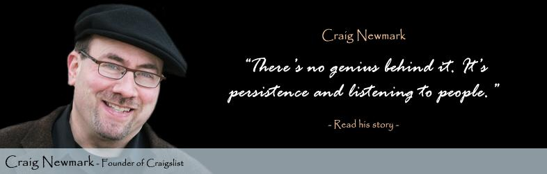 Craig Newmark Quote
