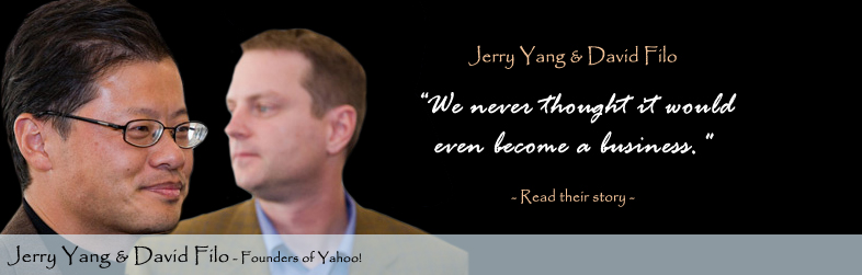 David Filo Jerry Yang, Yahoo!