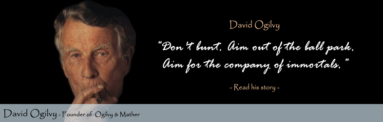 David Ogilvy Quote