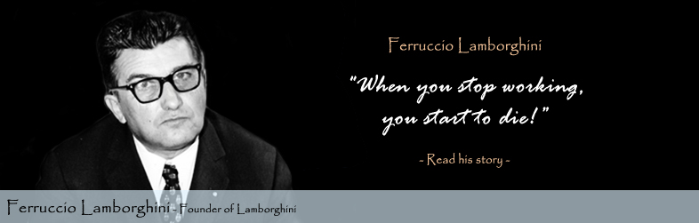 Ferruccio Lamborghini Quote