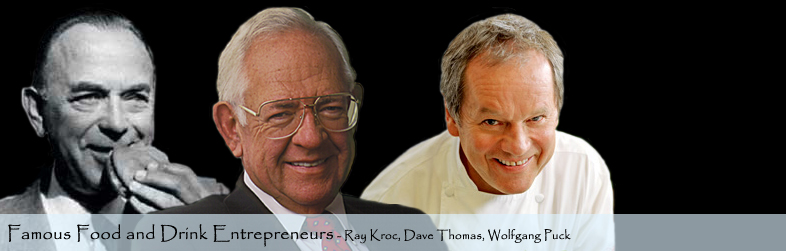 Famous Food and Drink Entrepreneurs