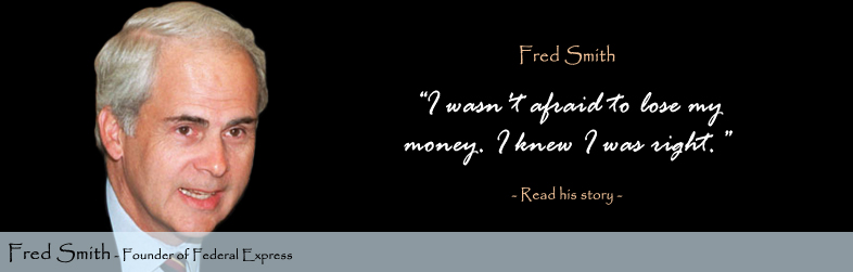 Fred Smith Quote