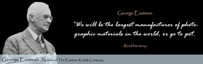 George Eastman Quote