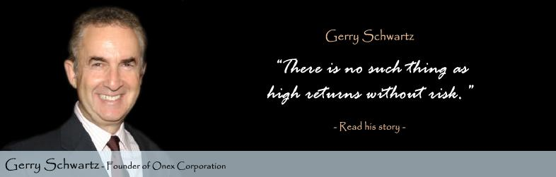 Gerry Schwartz Quote