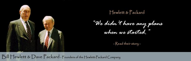 William Hewlett David Packard Quote