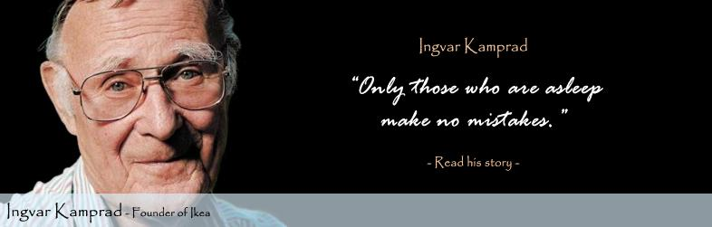 Ingvar Kamprad Quote