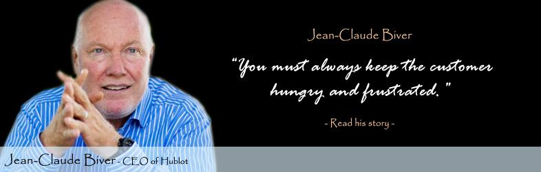 Jean-Claude Biver Quote