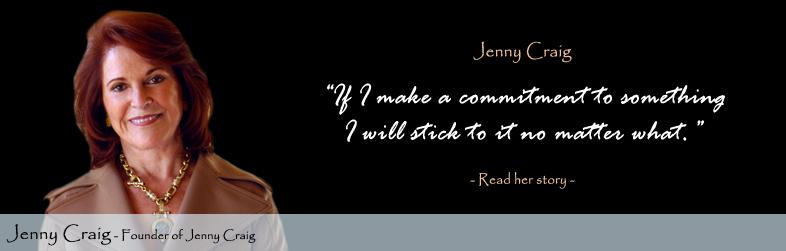 Jenny Craig Quote
