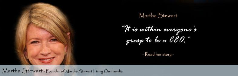 Martha Stewart Quote