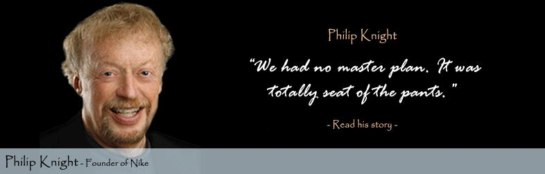 Philip Knight Quote