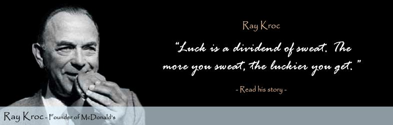 Ray Kroc Quote