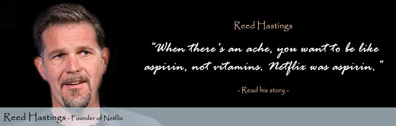 Reed Hastings Quote