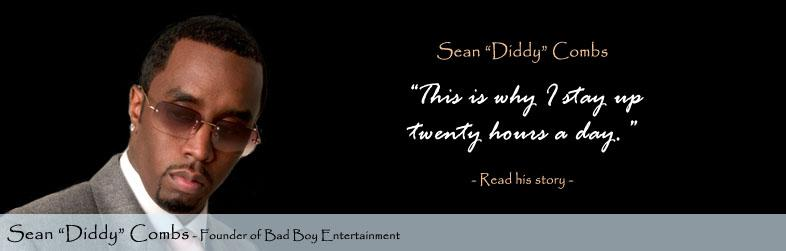 Sean Diddy Combs Quote