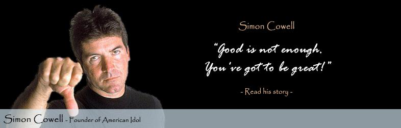 Simon Cowell Quote