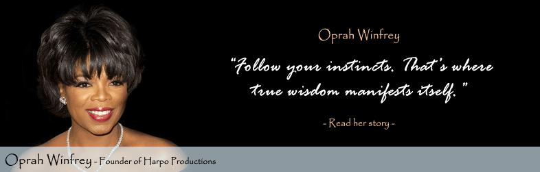 Oprah Winfrey Quote