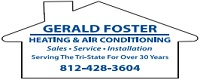 Website for Gerald Foster Heating & Air/The Air Conditioning Store