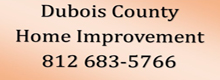 Website for Dubois County Home Improvement