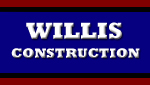 Website for Willis Construction, LLC