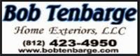Website for Bob Tenbarge Home Exteriors LLC